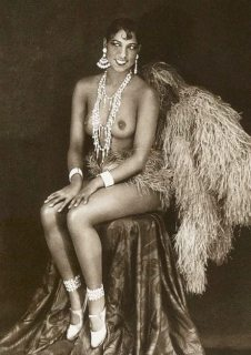Josephine Baker photographed by Julian Mandel