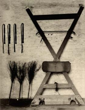 Whipping-frame at Wormwood Scrubs Prison (1895)